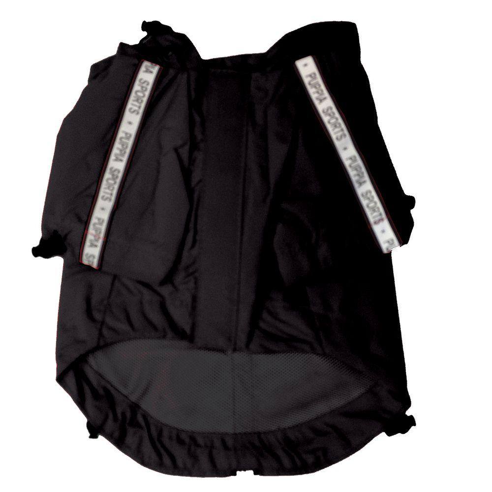 Puppia Base Jumper Dog Raincoat Size 2x Large Black