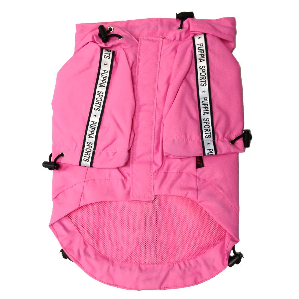 Puppia Base Jumper Dog Raincoat Size 2x Large Pink