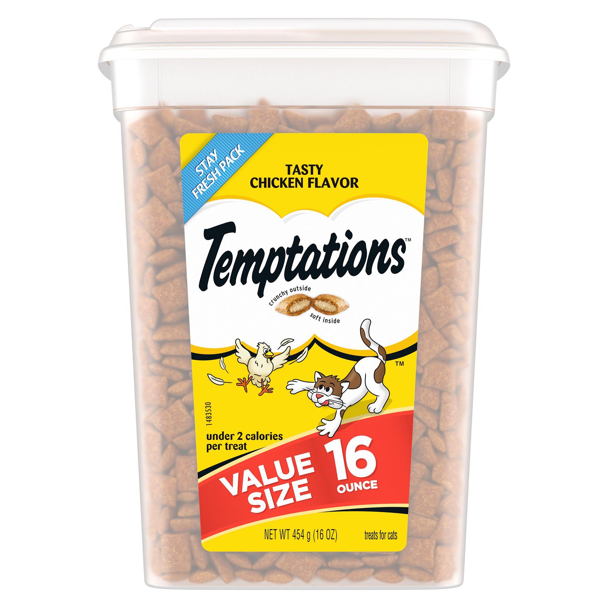 Temptations Cat Treat Tasty Chicken Size 16 Oz