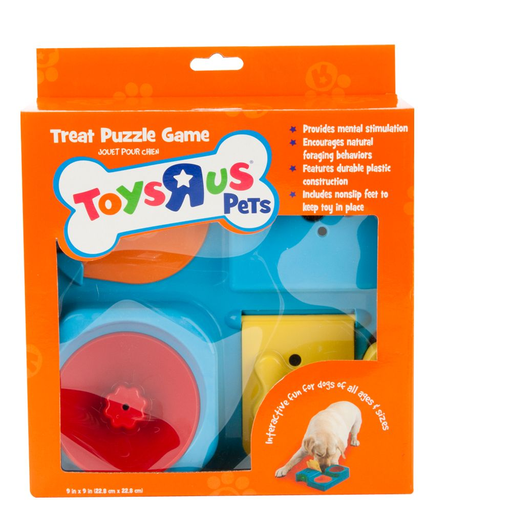 "Toys""R""Us Pets Treat Puzzle Dog Toy, Multi-Color, Toys R Us 5209146"