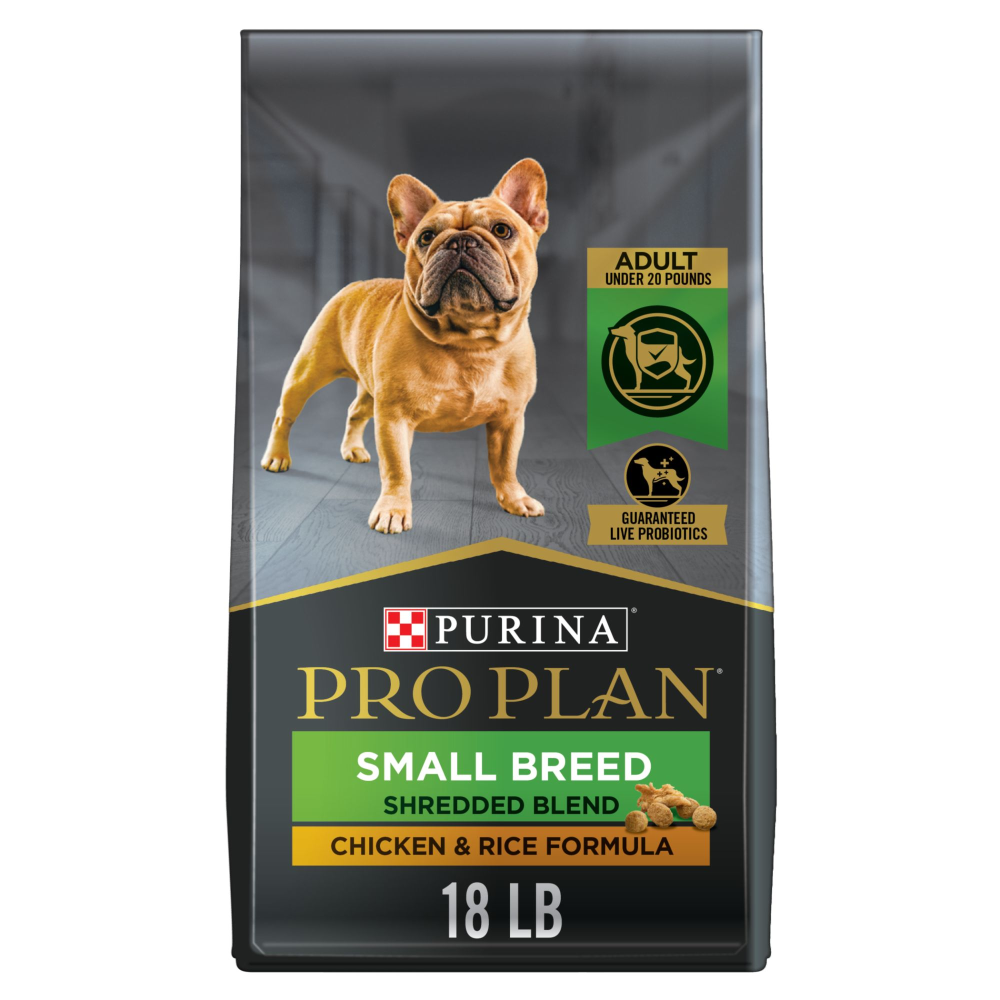 Purina Pro Plan Savor Small Breed Adult Dog Food Chicken And Rice Size 18 Lb