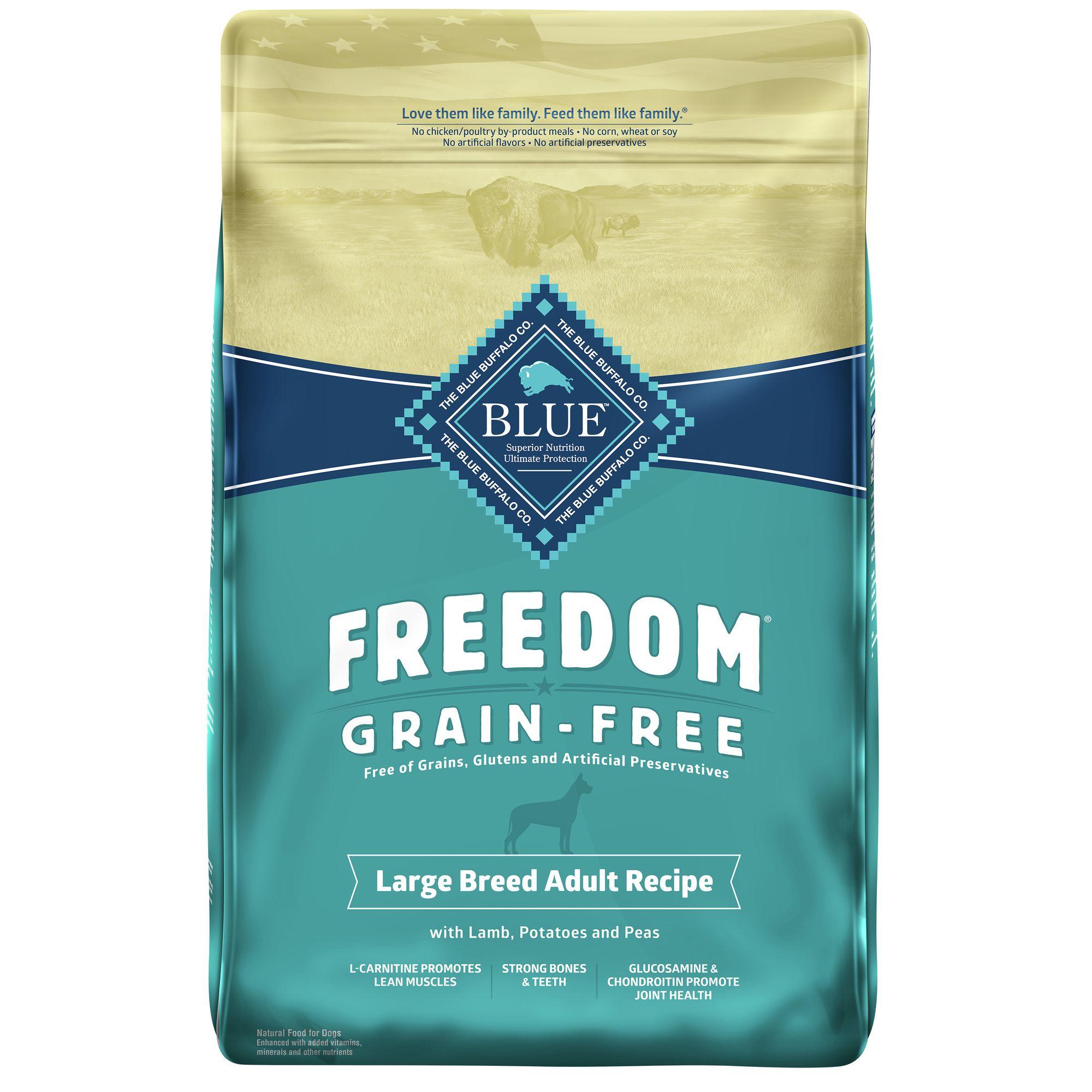 Blue Buffalo Freedom Dog Food Petsmart