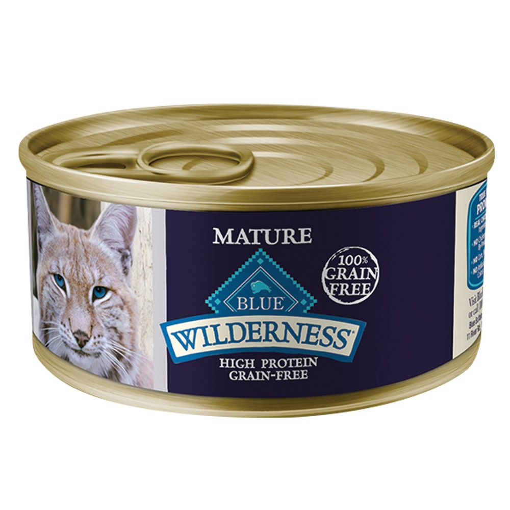 Blue Wilderness® Grain Free Chicken Mature Senior Cat Fo