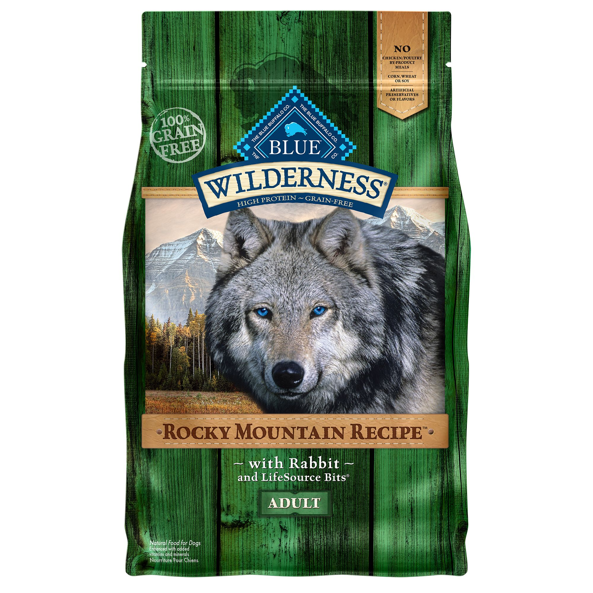 Blue Wilderness® Rocky Mountain Recipe, Grain Free Adult