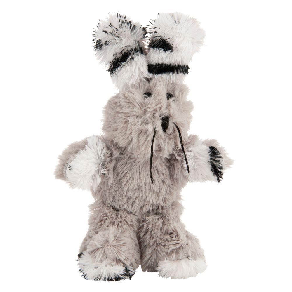 Kong Fuzzy Bunny Cat Toy size: Medium, Gray 5209562