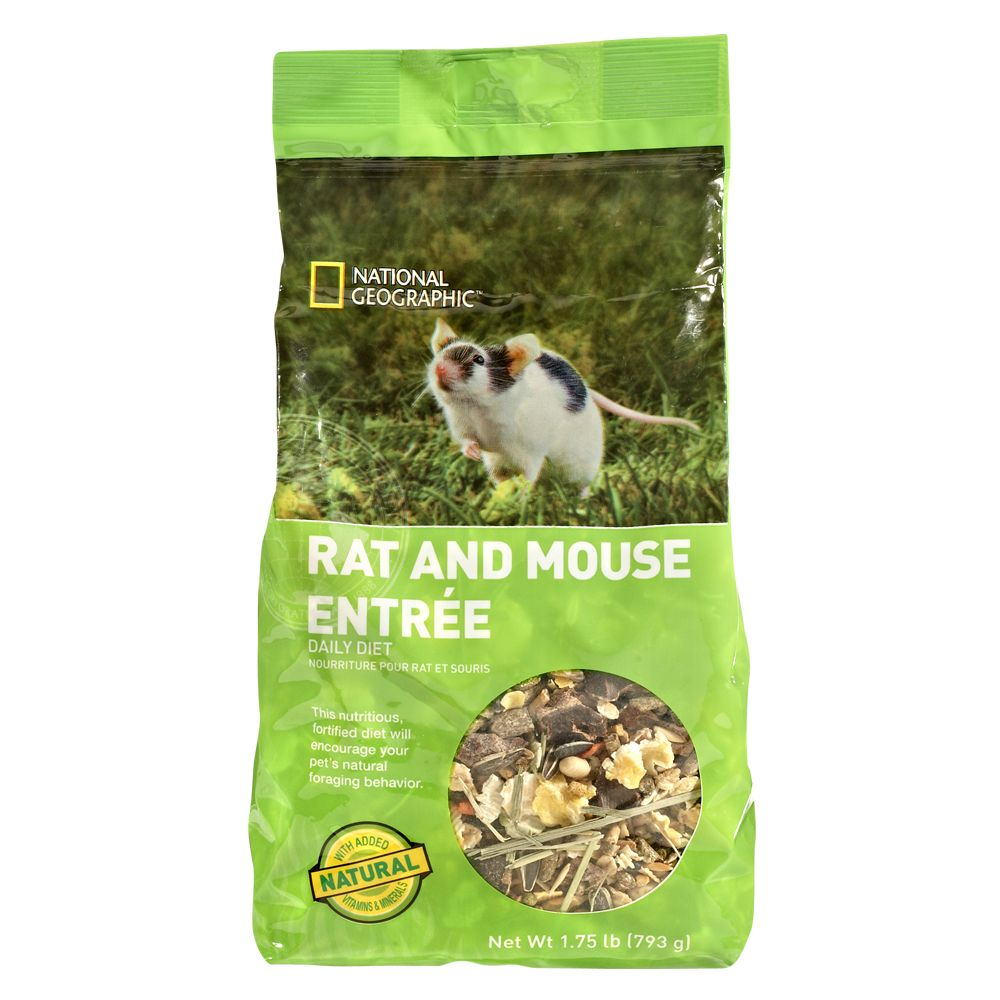 National Geographic Daily Diet Rat And Mouse Food Size 1.75 Lb