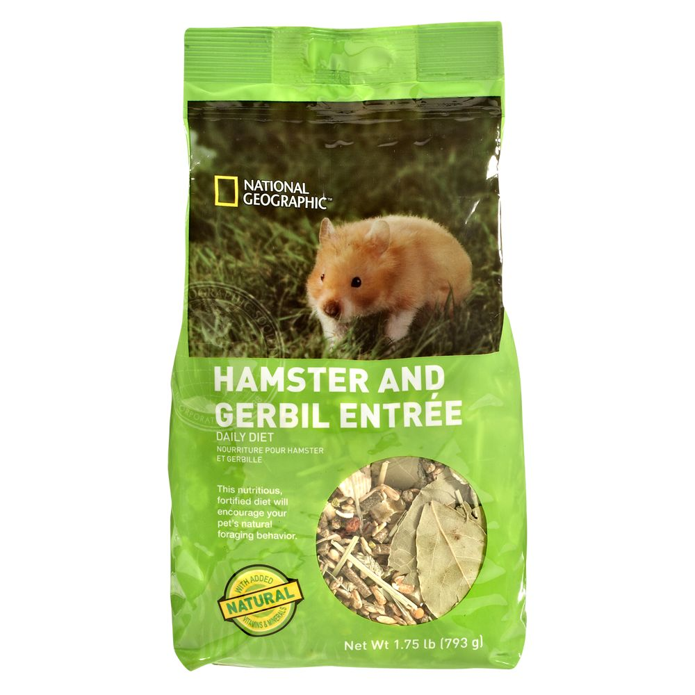 National Geographic Daily Diet Hamster And Gerbil Food Size 1.75 Lb