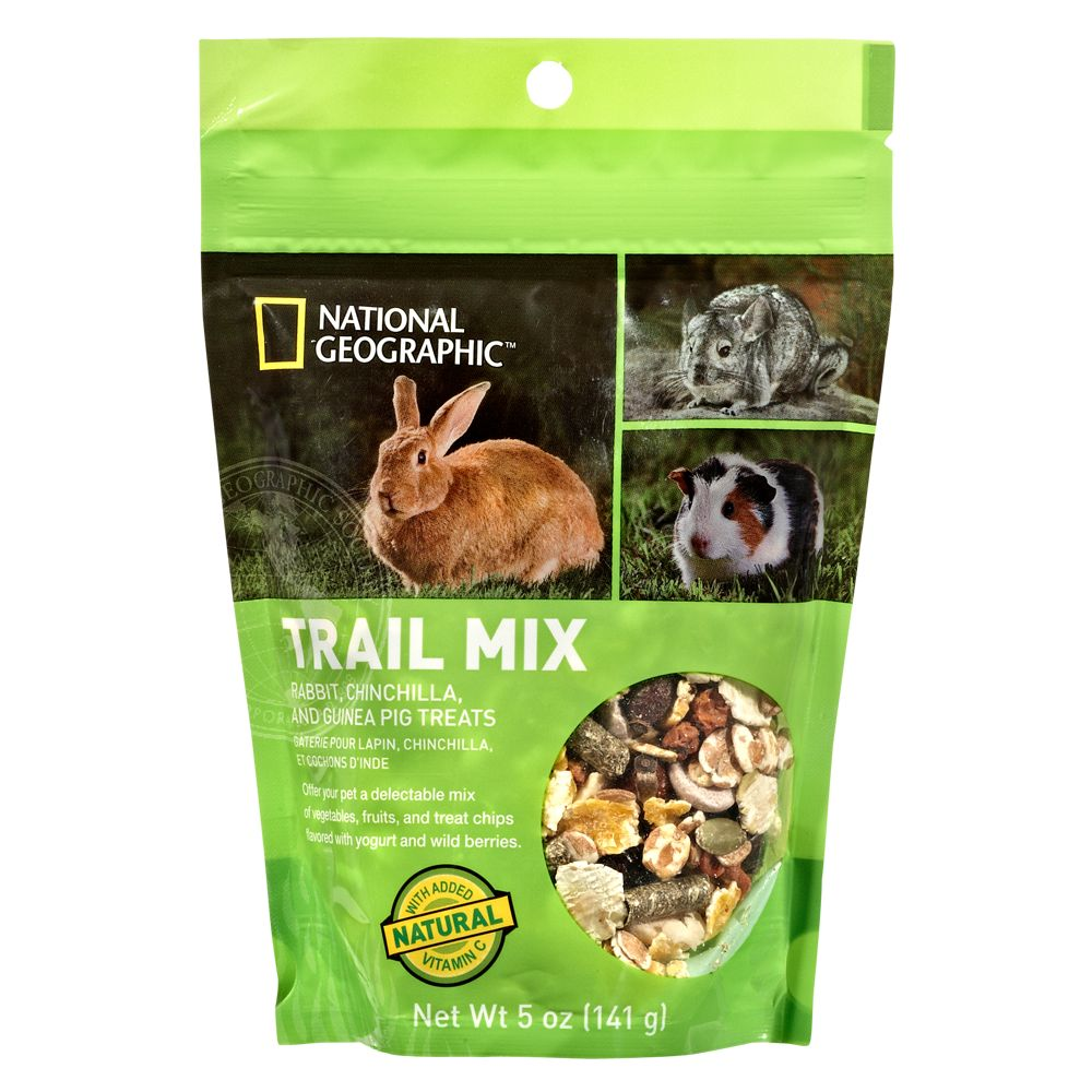 National Geographic Trail Mix Small Animal Treat Size 5 Oz