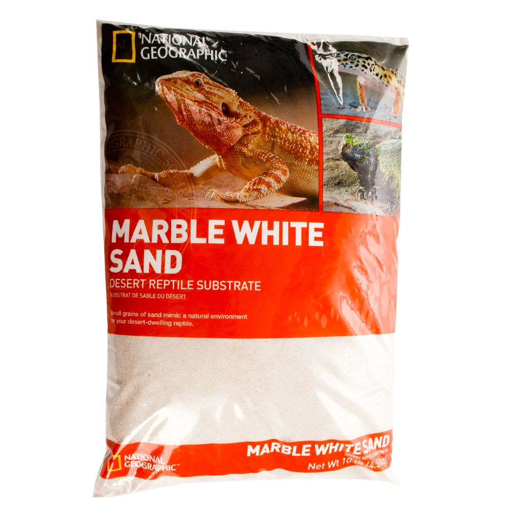 National Geographic Marble Reptile Sand Size 10 Lb
