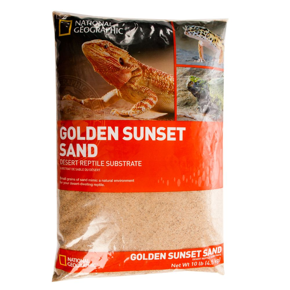 National Geographic Sunset Reptile Sand Size 10 Lb