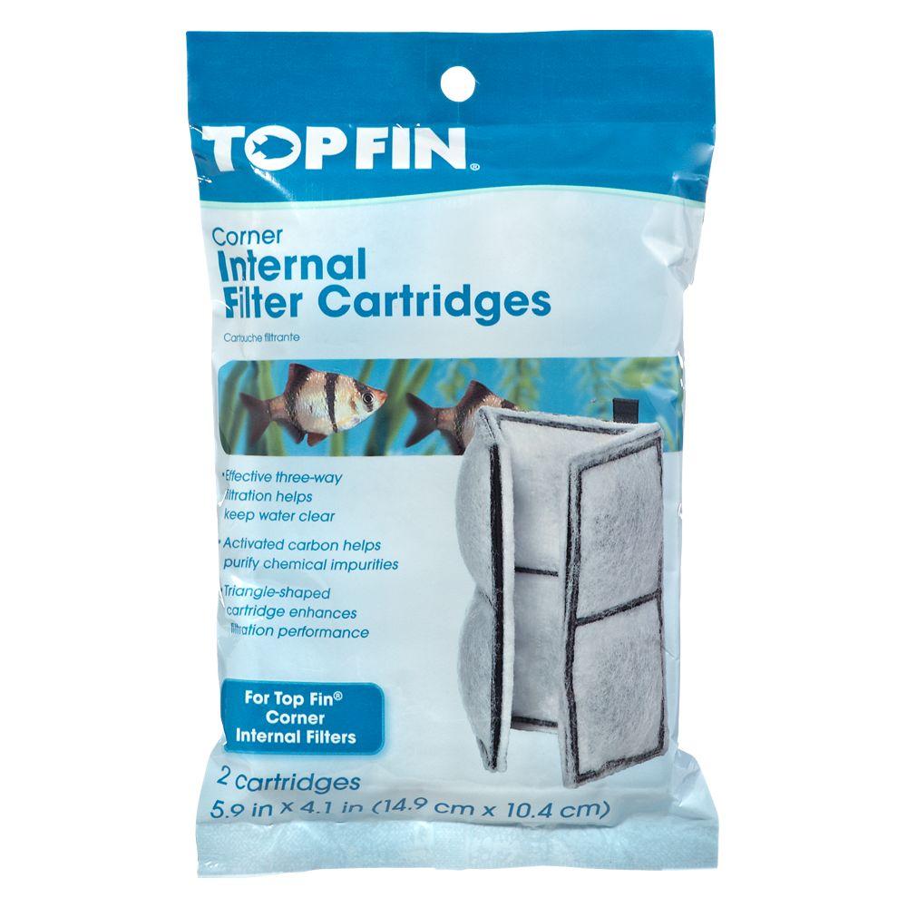 Top Fin® 15 Corner Filter Cartridge size: 2 Count