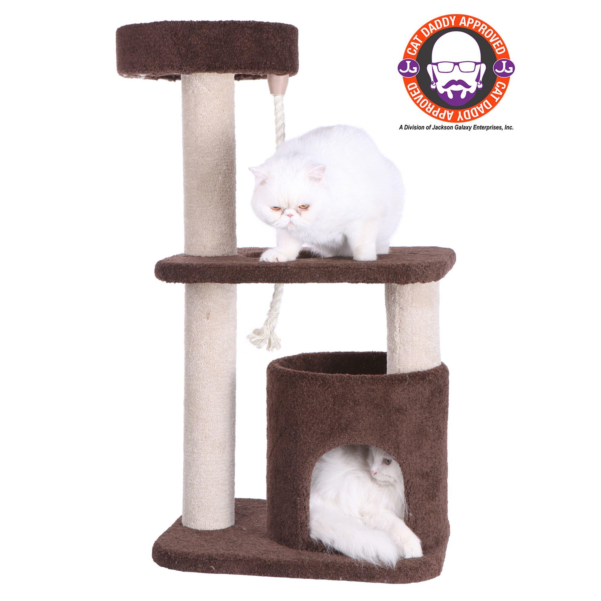Armarkat Cat Tree Brown White