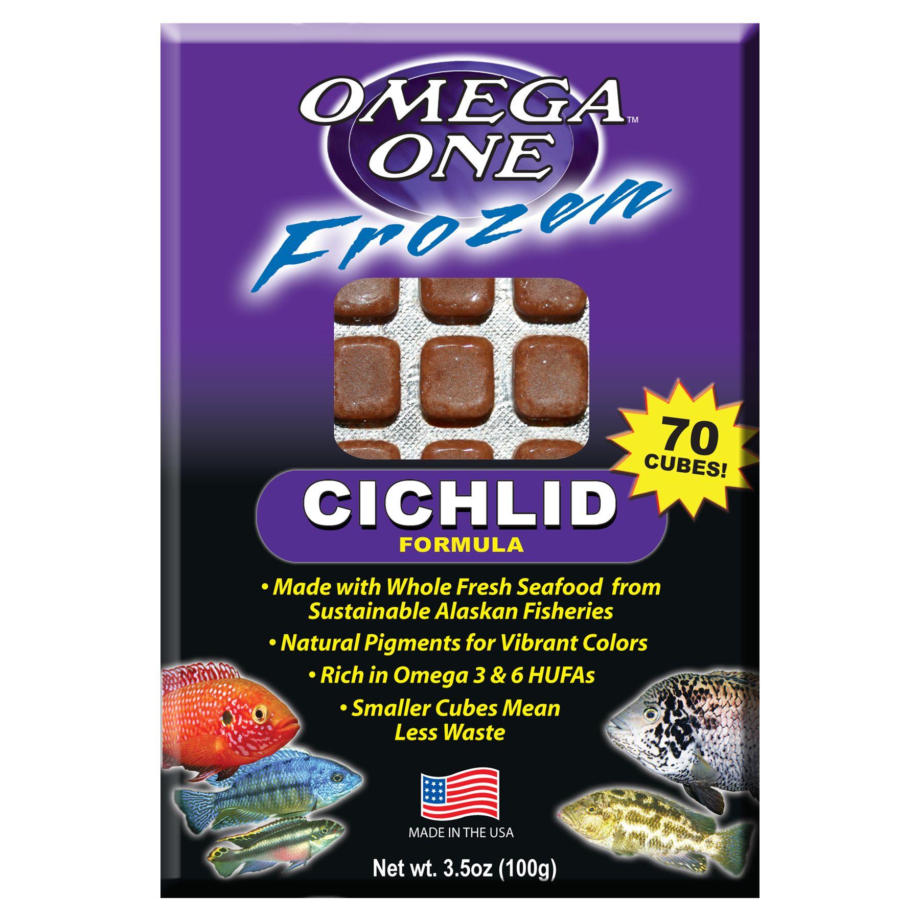 Omega One Cichlid Food Size 3.5 Oz Omega One