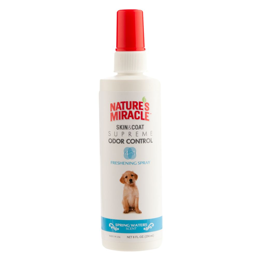 Natures Miracle Spring Waters Scented Dog Freshening Spray Size 8 Fl Oz