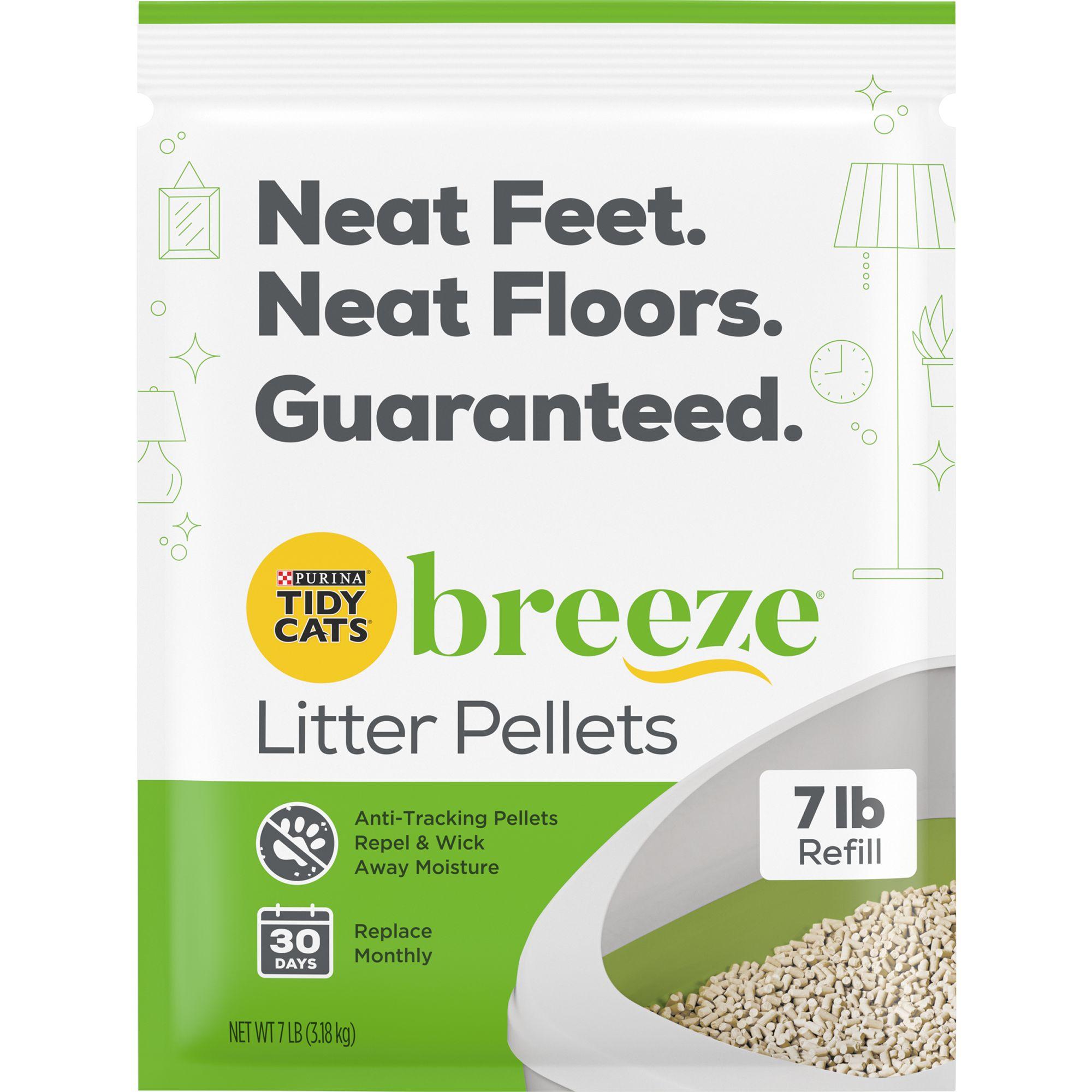 Purina Tidy Cats Breeze Cat Litter Pellets Refill Size 7 Lb