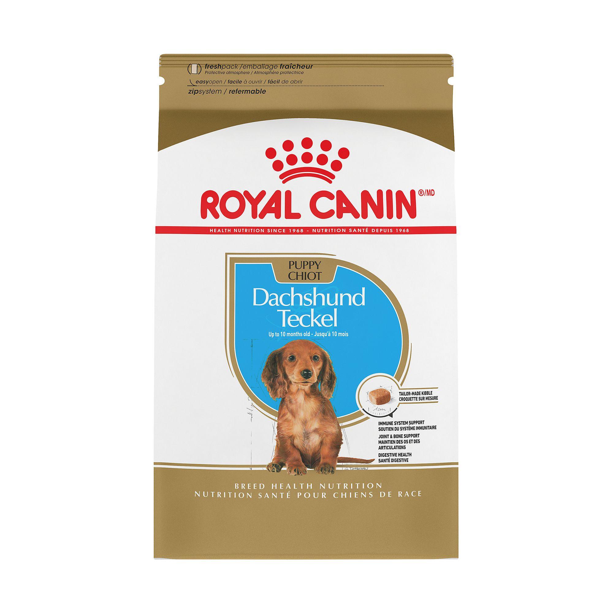 Royal Canin Breed Health Nutrition, Dachshund Puppy Food size: 2.5 Lb 5211539