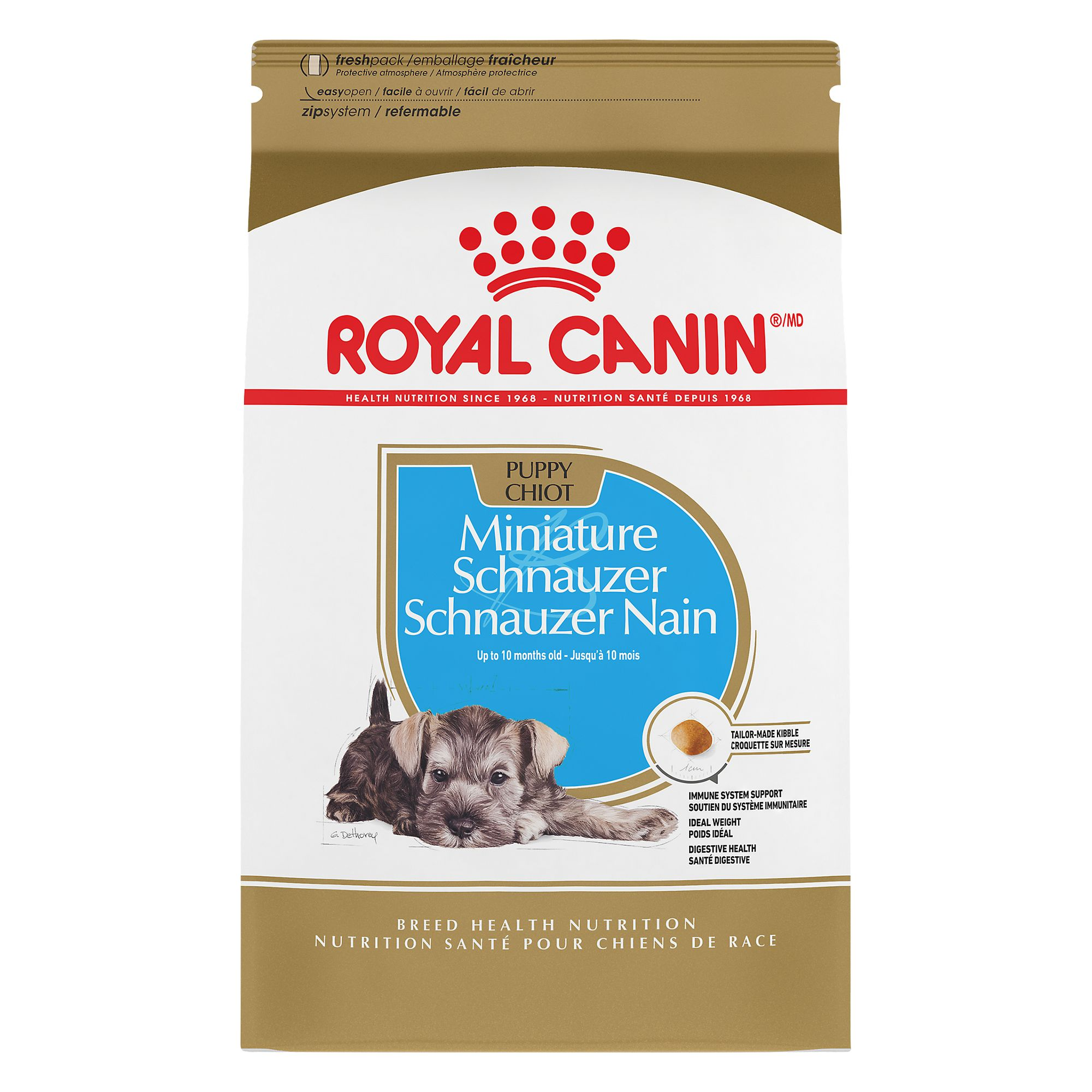 Royal Canin® Breed Health Nutrition, Miniature Schnauzer Puppy Food size: 2.5 Lb 5211540
