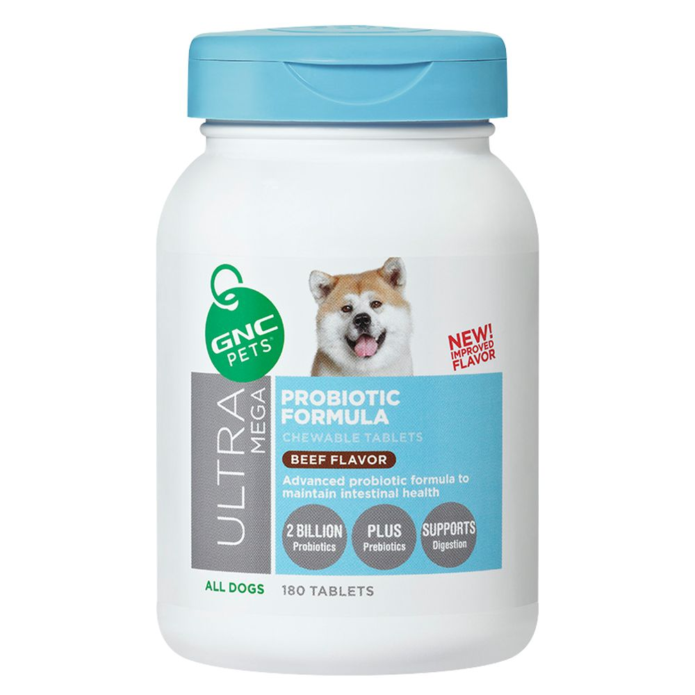 GNC Pets® Ultra Mega Probiotic Formula Chewable Tablet s