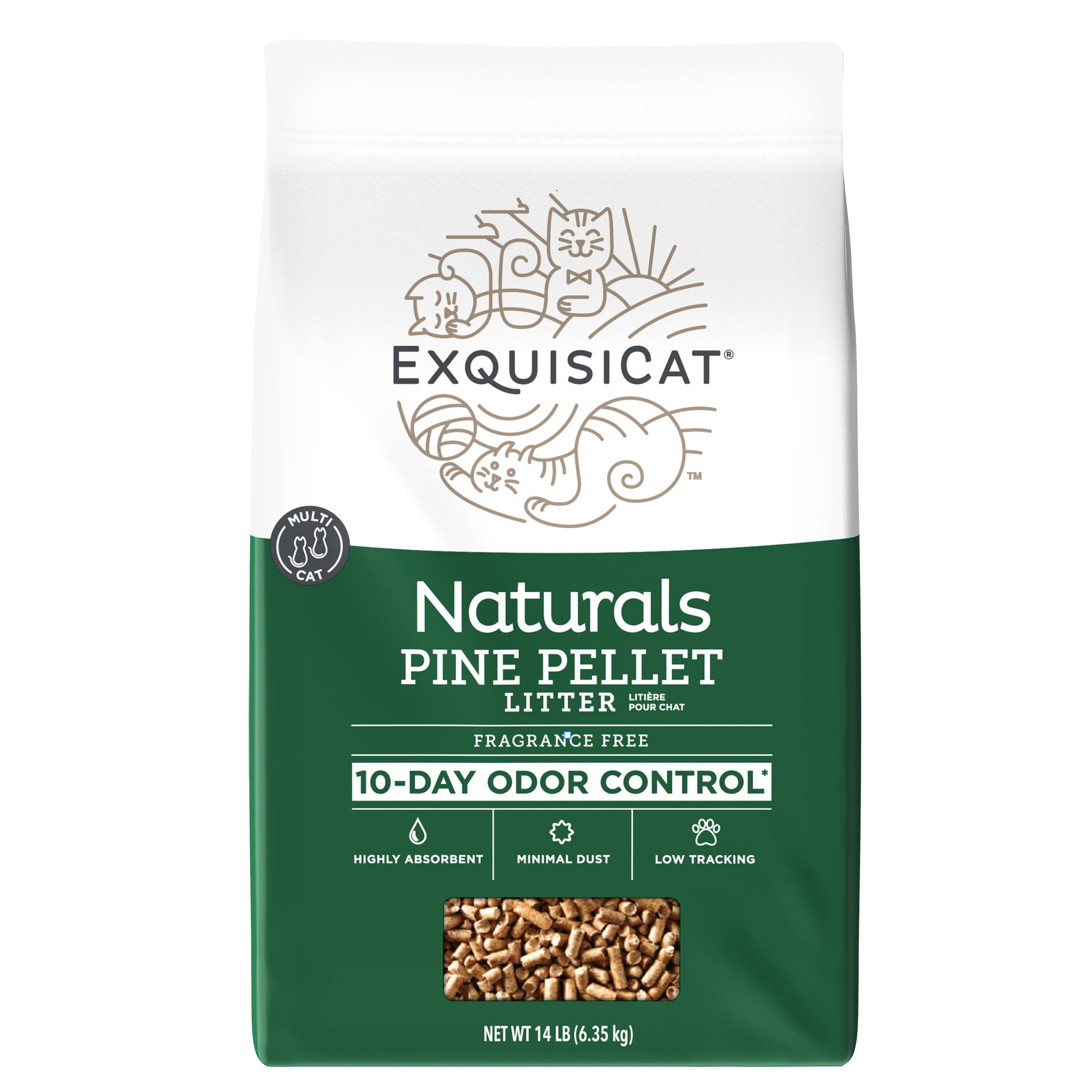 Pellets Cat Litter Zeolite