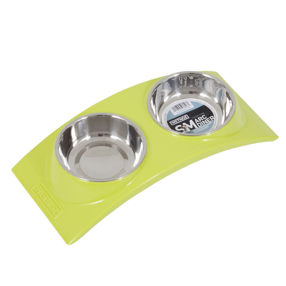 Wetnoz Arc Double Diner Bowl Size 16l X 7w X 3.25h Pear