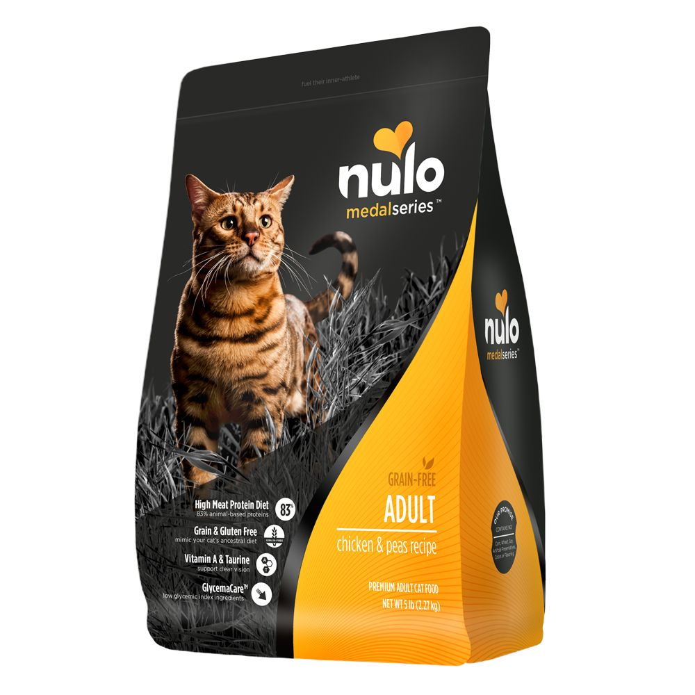 Nulo Medalseries Adult Cat Food Grain Free Chicken And Peas Size 5 Lb