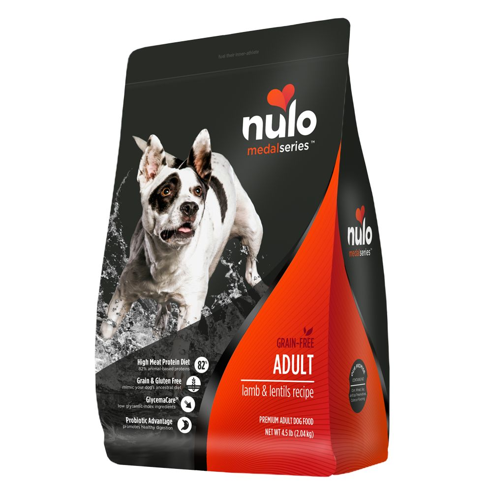 Nulo Medalseries Adult Dog Food Grain Free Size 4.5 Lb