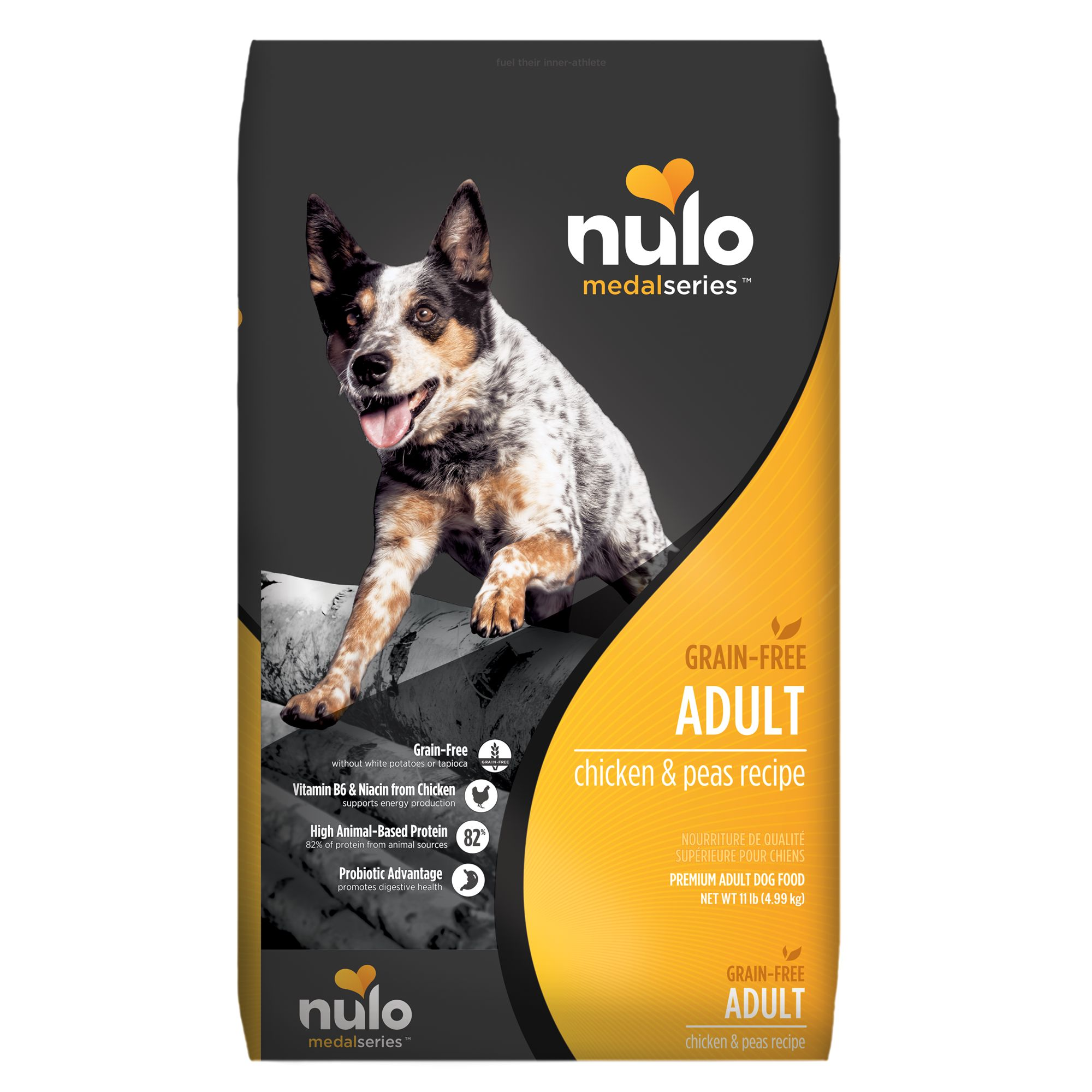 Nulo Medalseries Adult Dog Food Grain Free Size 11 Lb