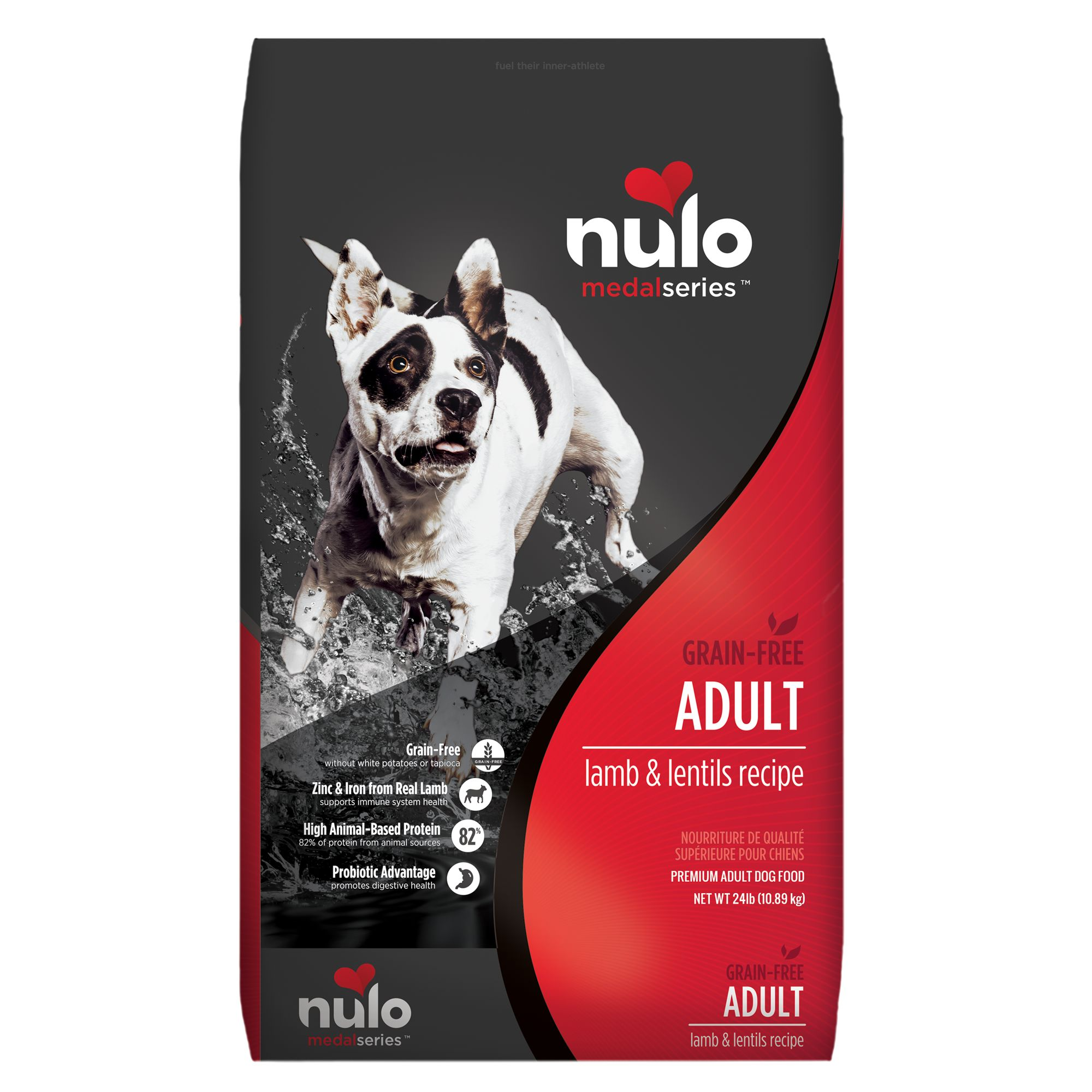 Nulo Medalseries Adult Dog Food Grain Free Size 24 Lb