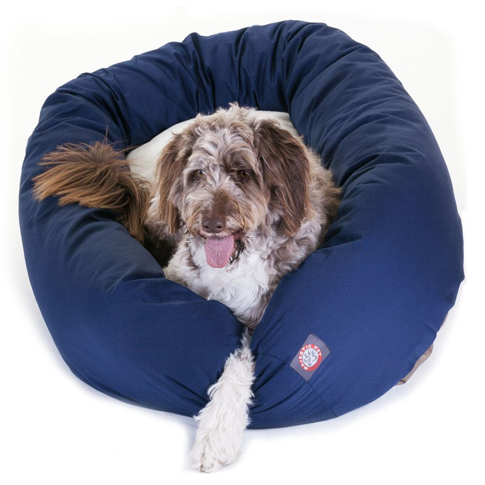 """Majestic Pet Products Bagel Dog Bed size: 52""""L x 35""""W x 11""""H"""