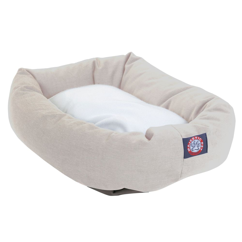 """Majestic Pet Products Bagel Dog Bed size: 40""""L x 29""""W x 9""""H,"""