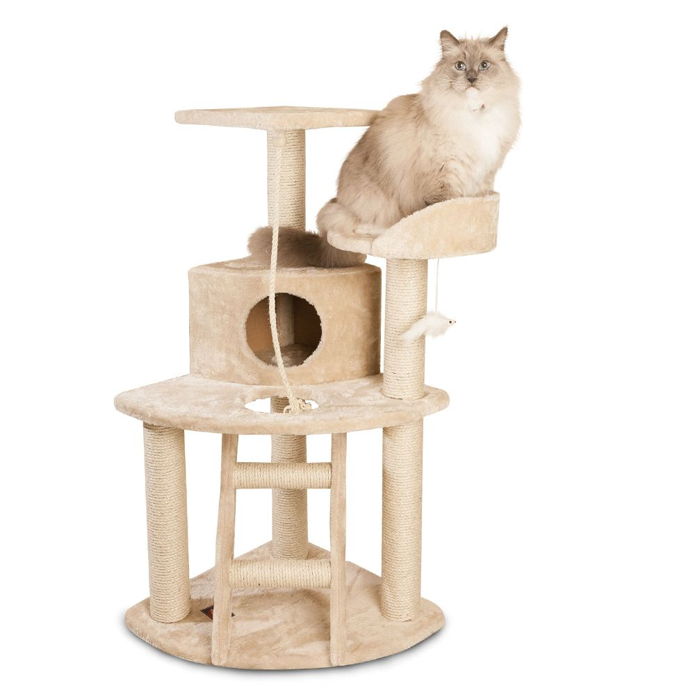 Majestic Pet 48 Casita Cat Tree Beige