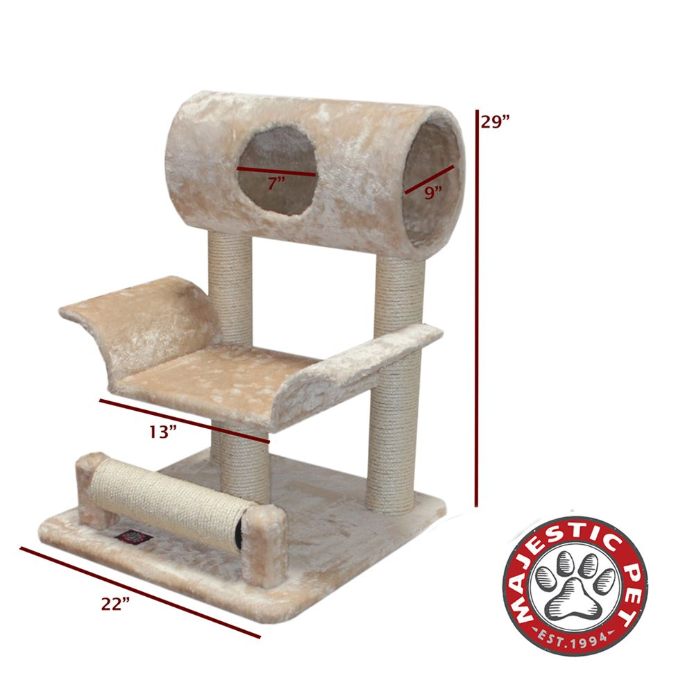 Majestic Pet 29 Casita Cat Tree Beige