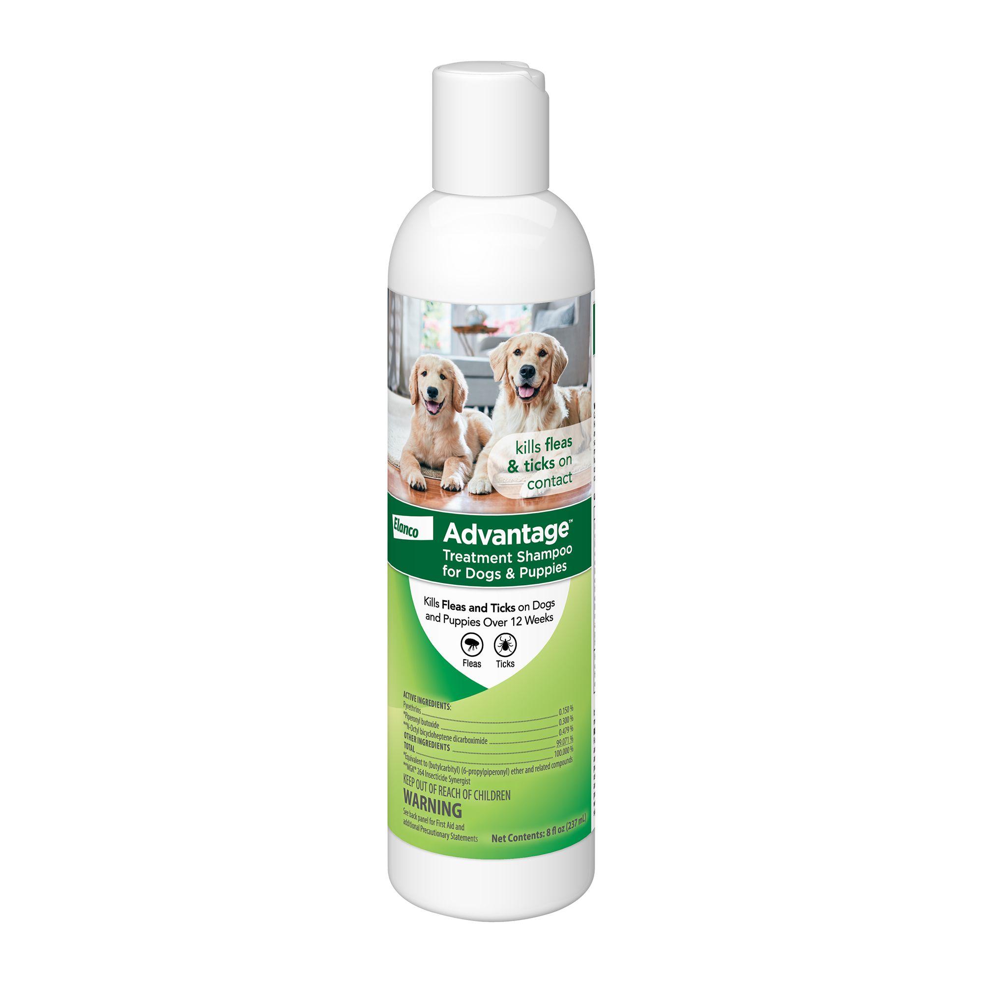 Advantage® 8oz Flea and Tick Dog Shampoo