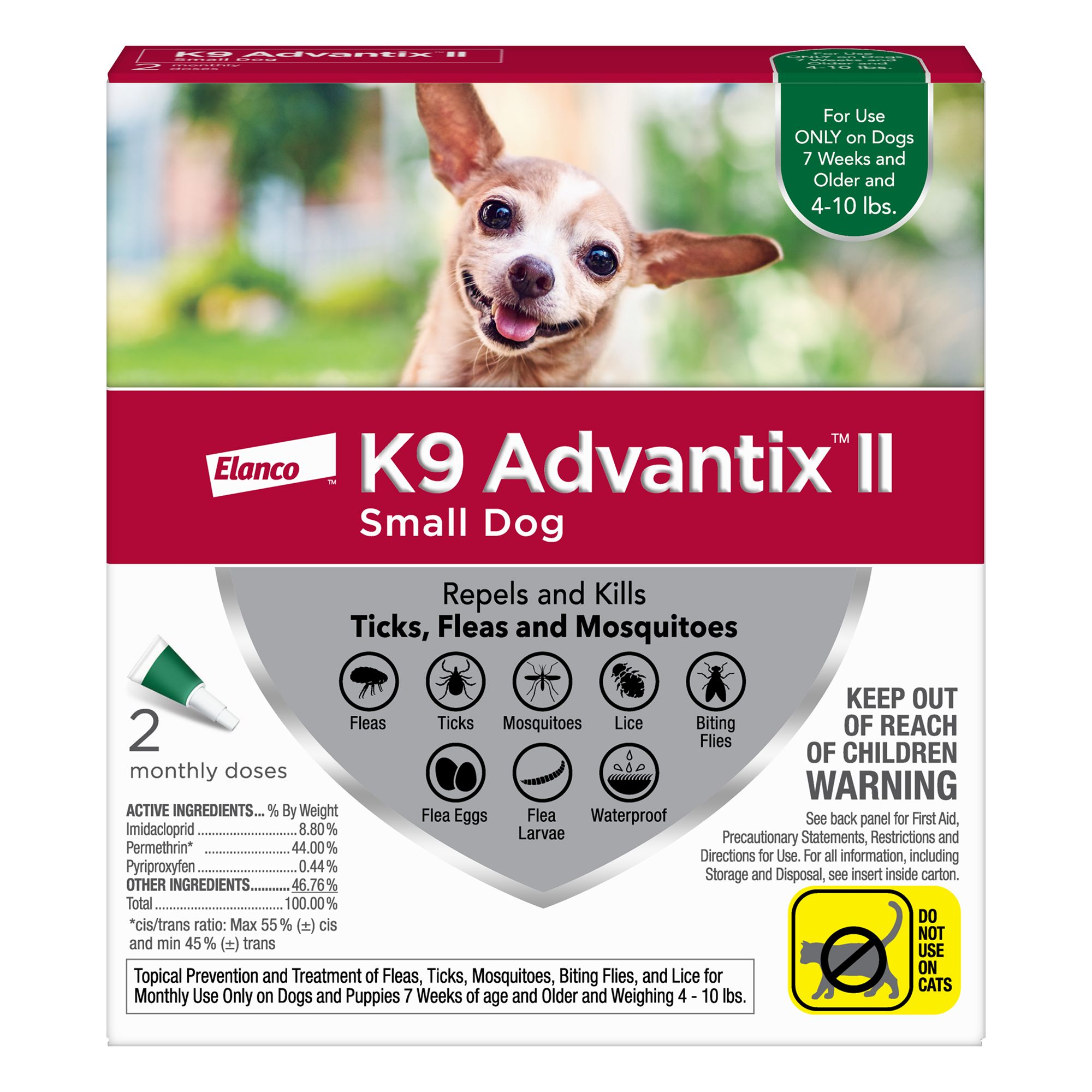 advantix for dogs application instructions
