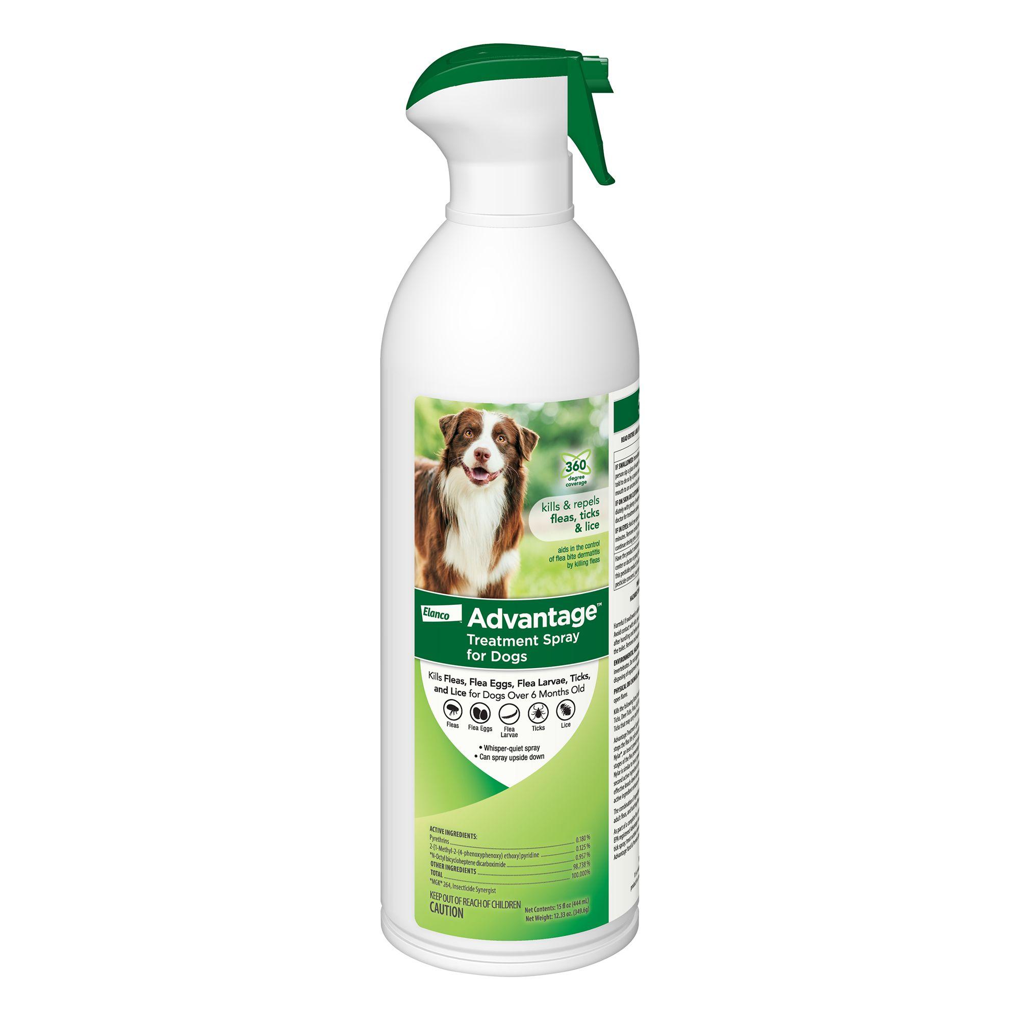 Advantage Flea And Tick Dog Treatment Size 15 Fl Oz
