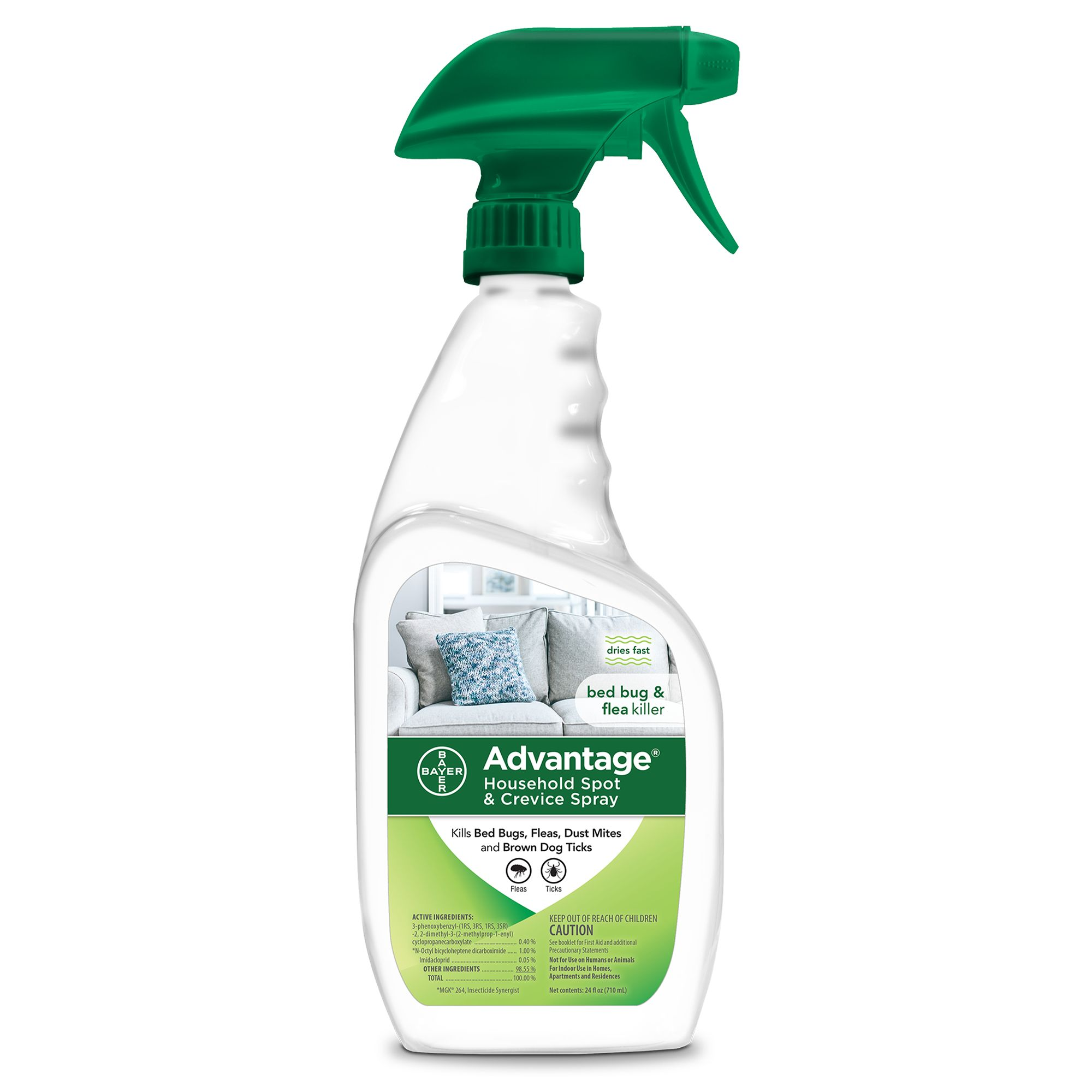 Advantage Flea And Tick Household Spot And Crevice Spray