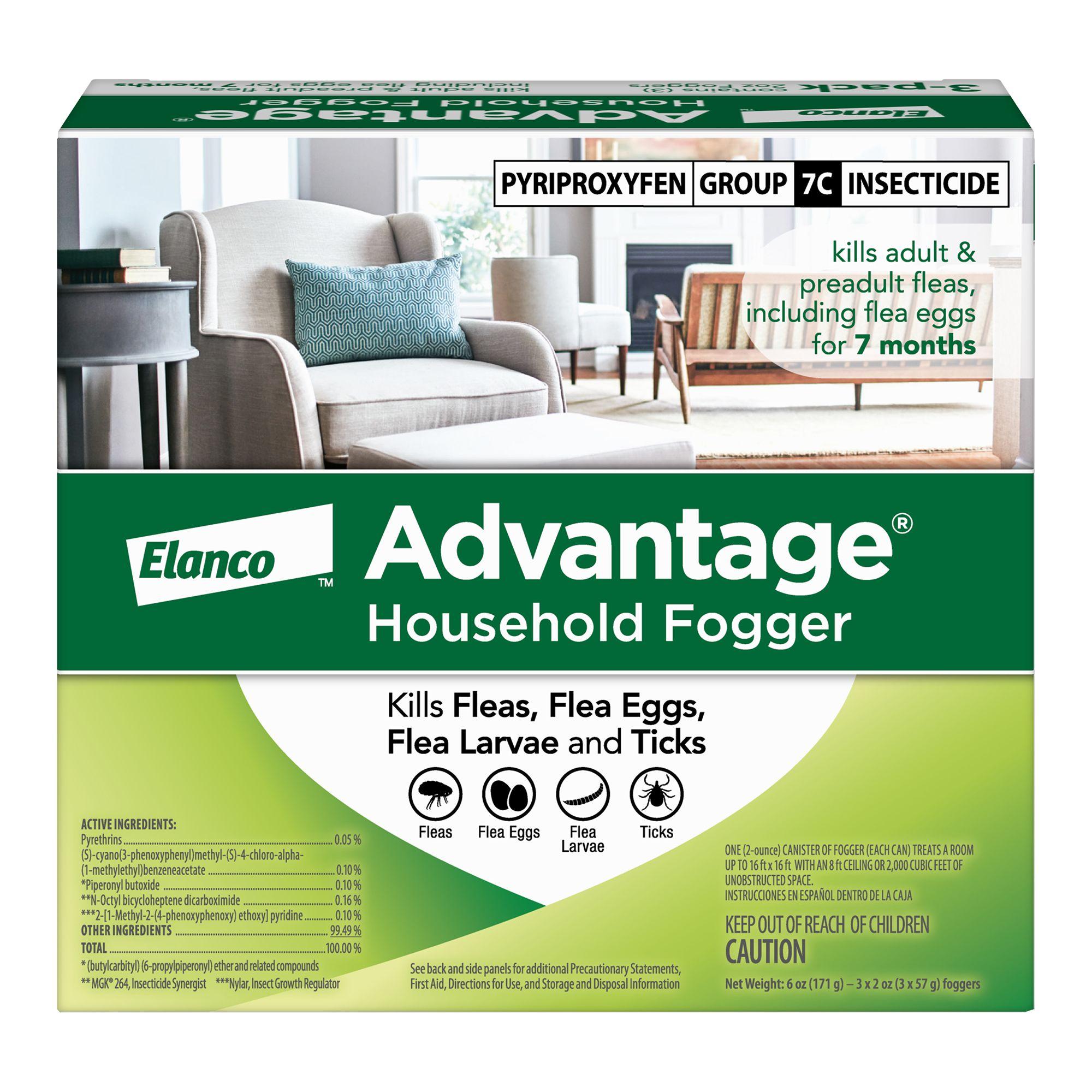 Advantage 3 Pack Household Fogger