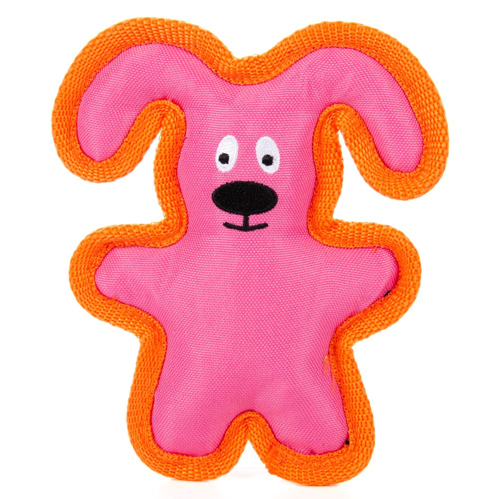 Puppiesrus Ballistic Flattie Dog Toy Character Varies Size Small Multi Color Puppies R Us