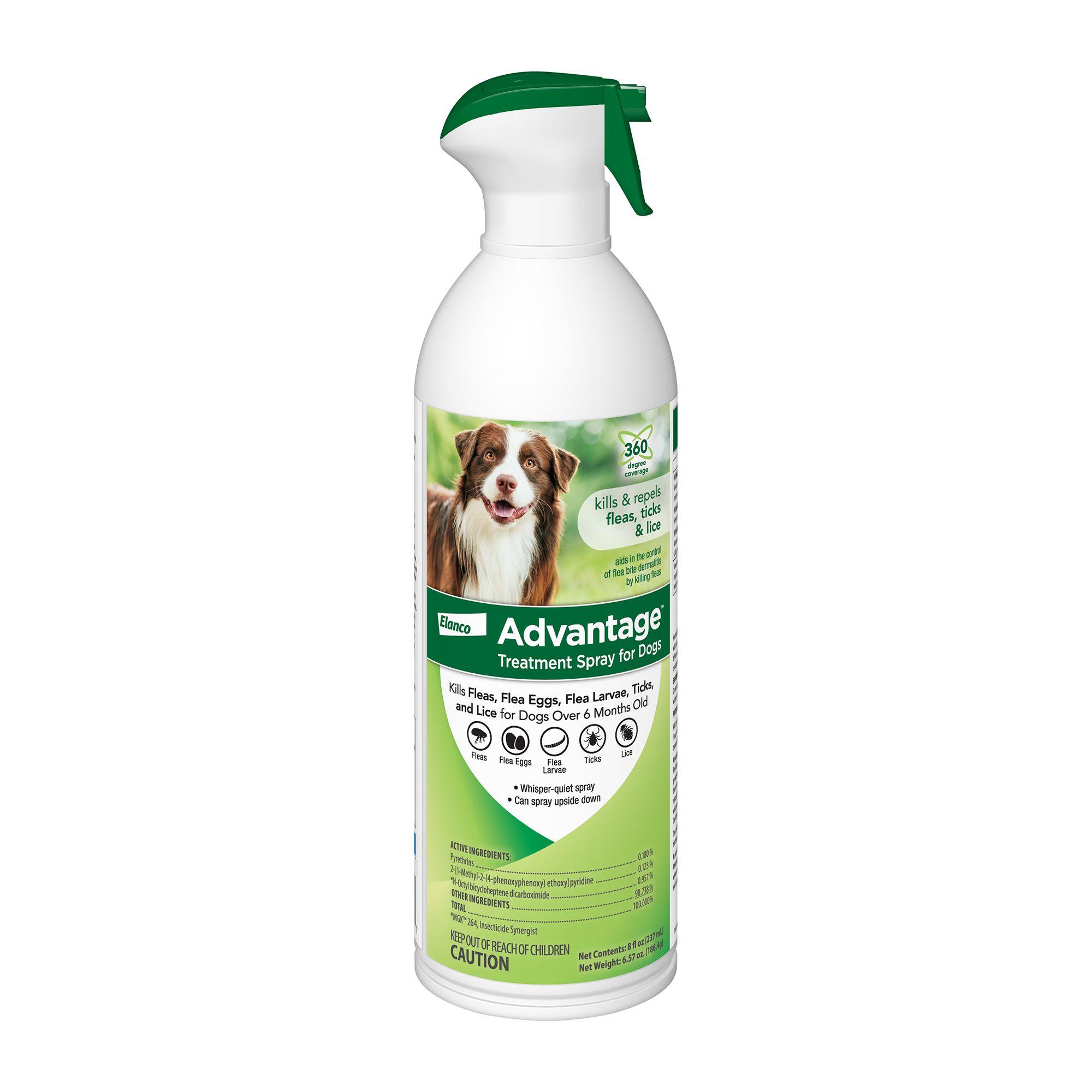Advantage Flea And Tick Dog Treatment Spray Size 12 Fl Oz
