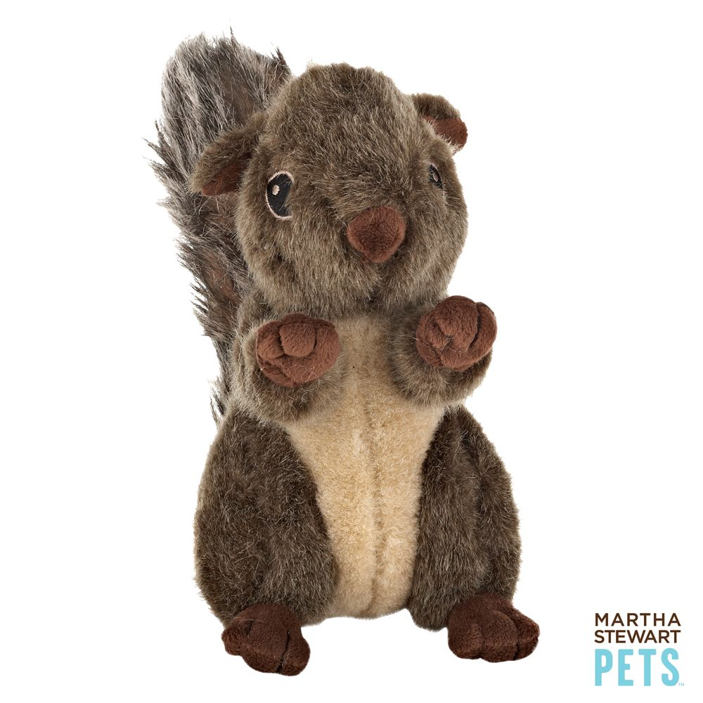 Martha Stewart Squirrel Dog Toy