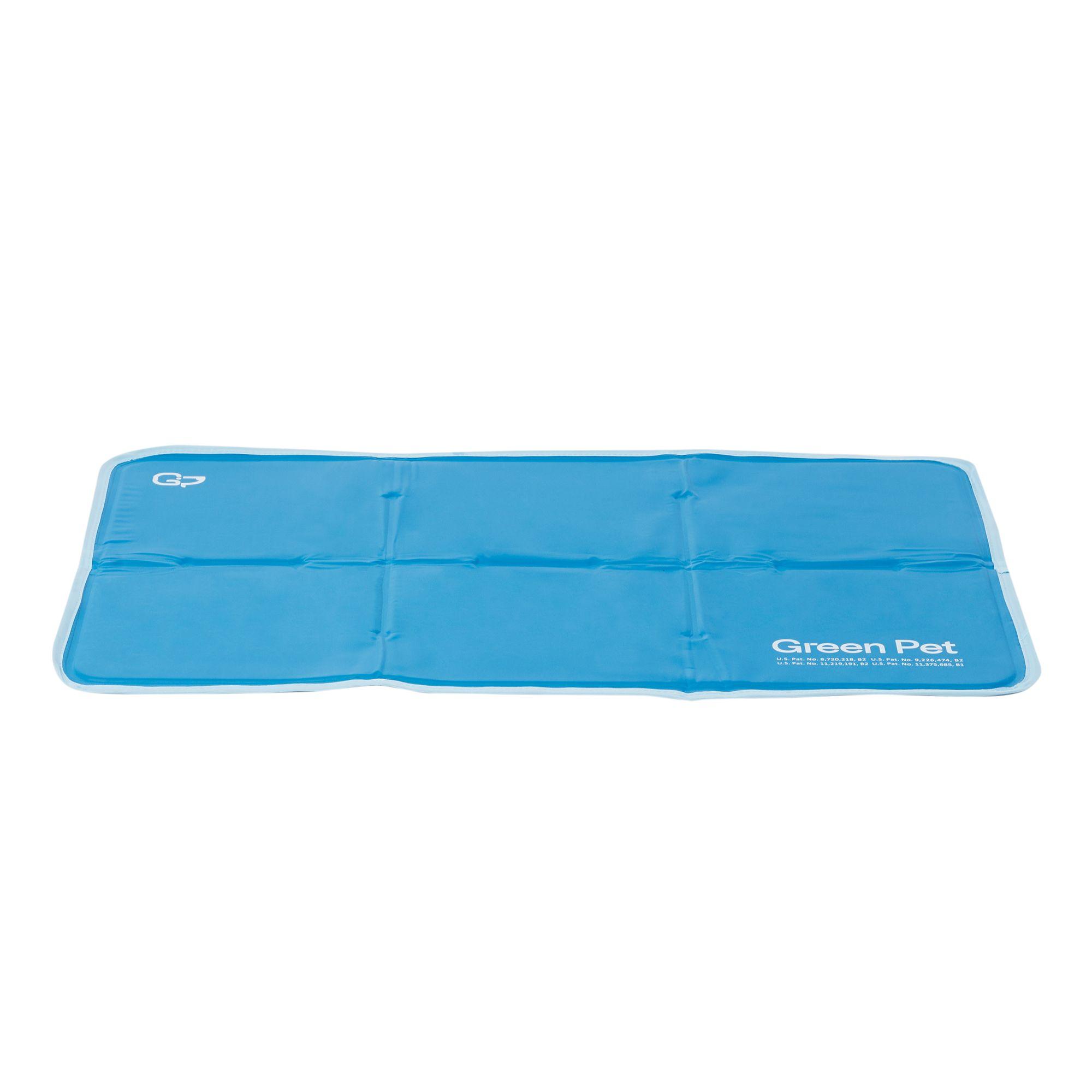 Thegreenpetshop Cool Pet Pad Size 23l X 35w Blue