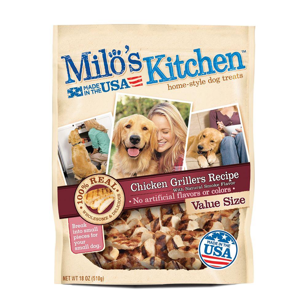 Milo's Kitchen Dog Treat - Chicken Grillers size: 18 Oz 5215846