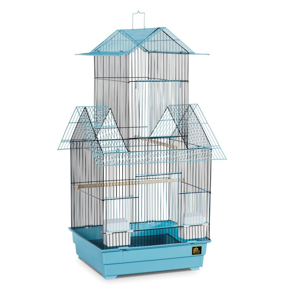 Prevue Pet Products Beijing Bird Cage, Blue & Black 5215853