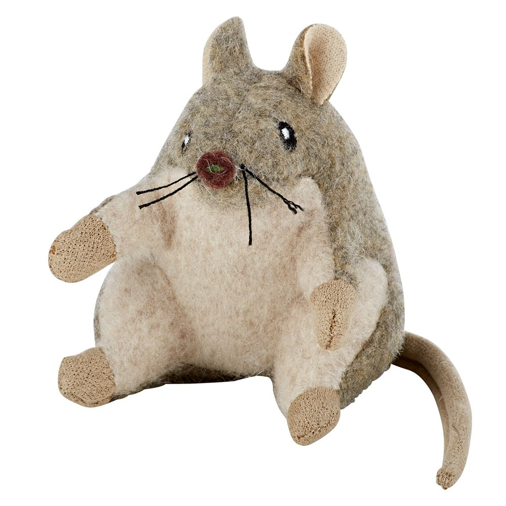 National Geographic, Mouse Cat Toy, Gray & White 5216193