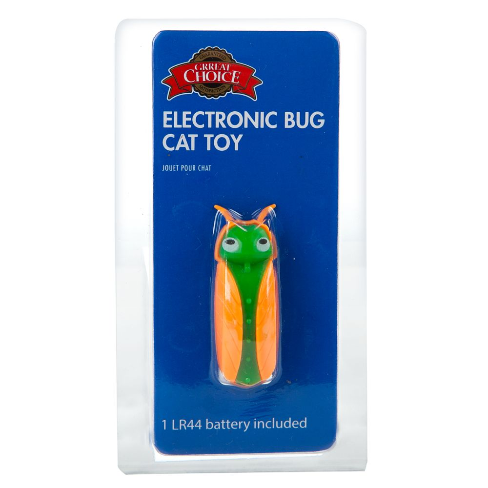 Grreat Choice® Electronic Bug Cat Toy, Multi-Color 5216279