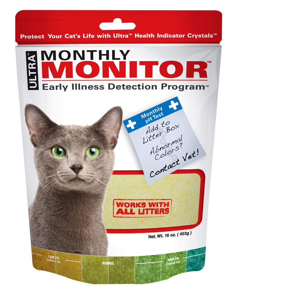 Ultra Monthly Monitor Cat Litter Size 1 Lb Nutro Ultra