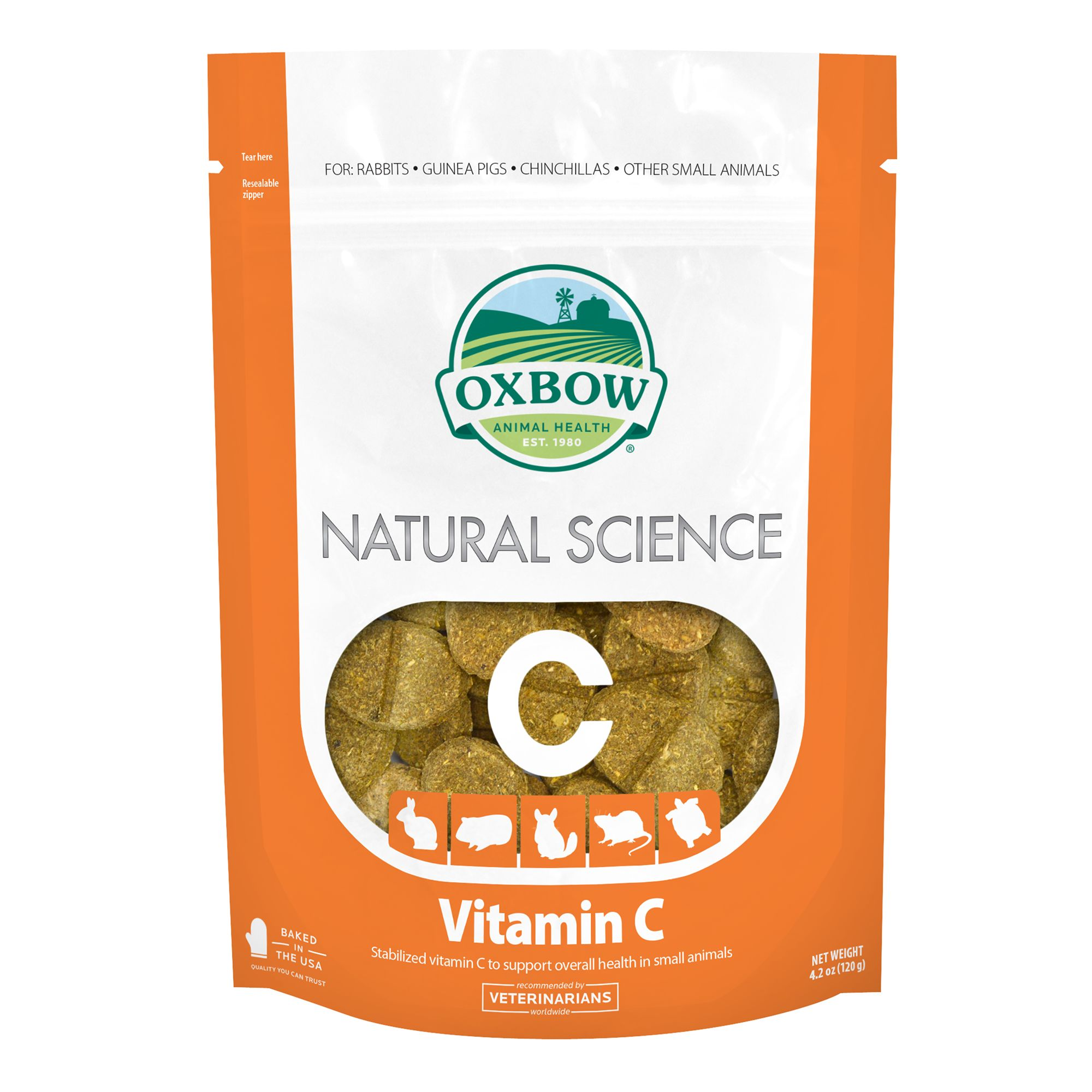 Oxbow Natural Science Vitaman C Small Pet Supplement