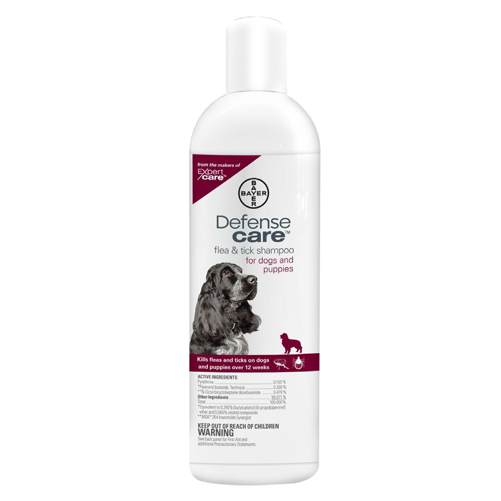 Bayer Defense Care Flea And Tick Dog Shampoo