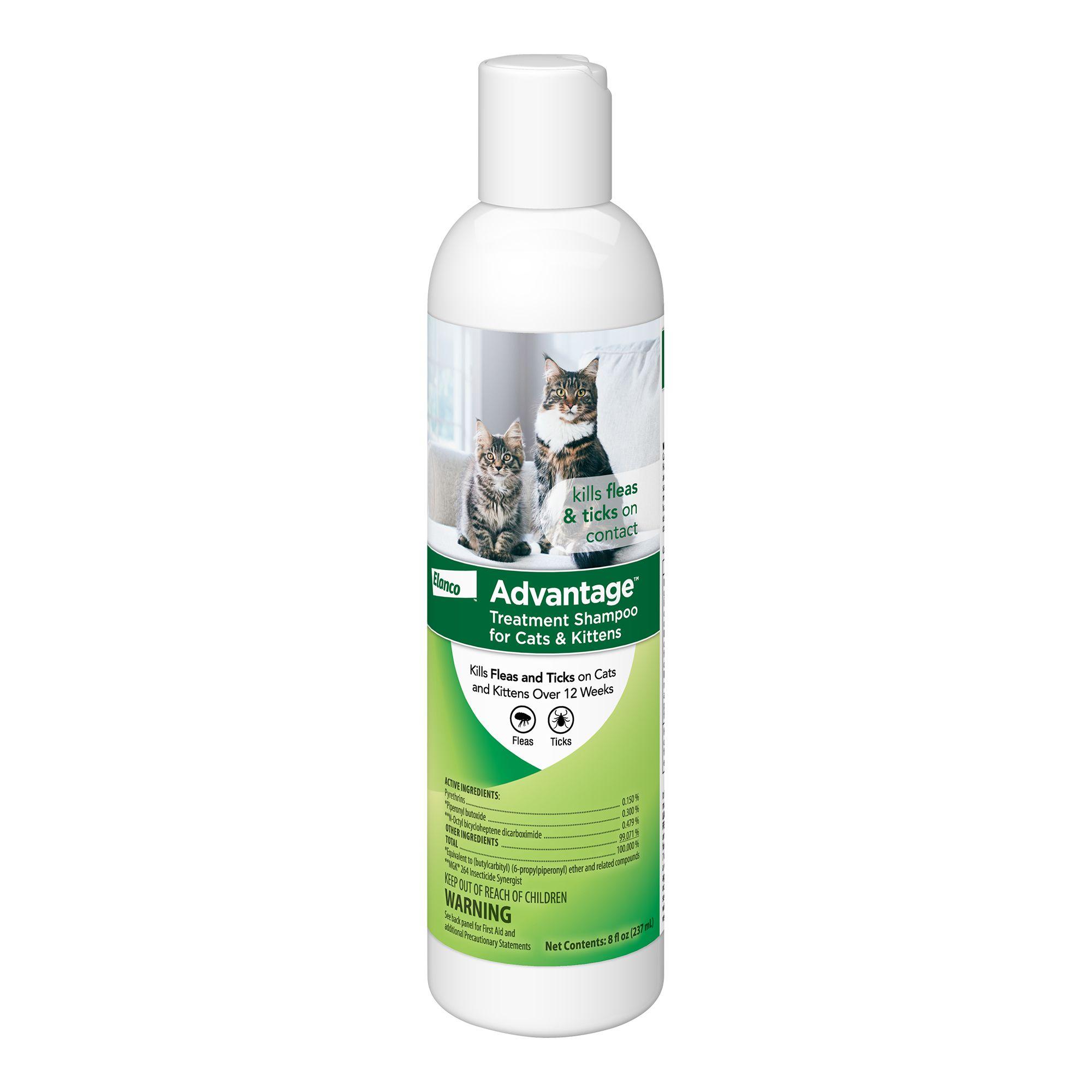 Advantage Flea And Tick Kitten And Cat Shampoo Size 8 Fl Oz