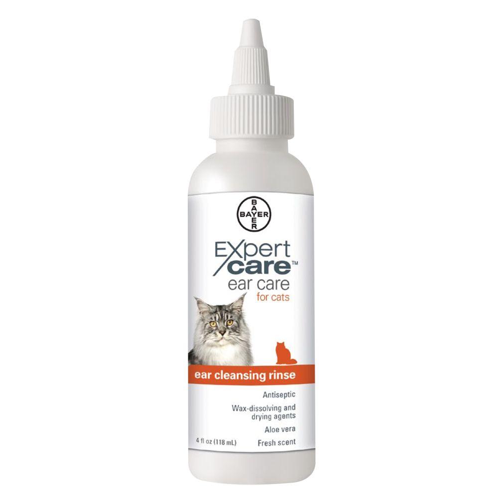 Bayer Expert Care Cat Ear Rinse Size 4 Fl Oz